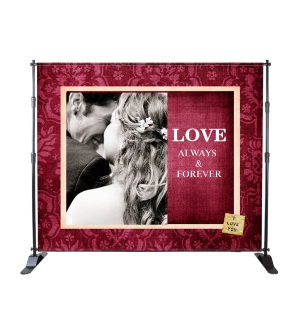 Wedding Events Banner Stand
