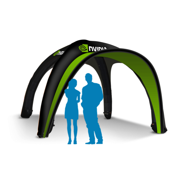 Logo Printed Inflatable tent