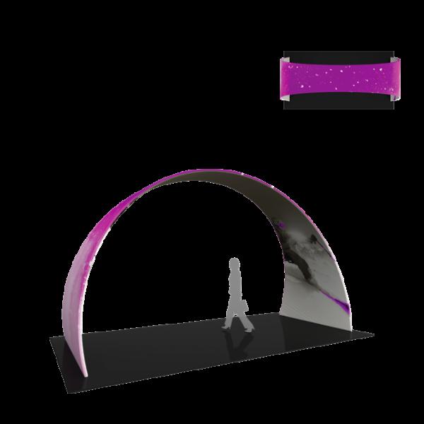 Premium 20ft Arch 03 Tension Fabric Structure