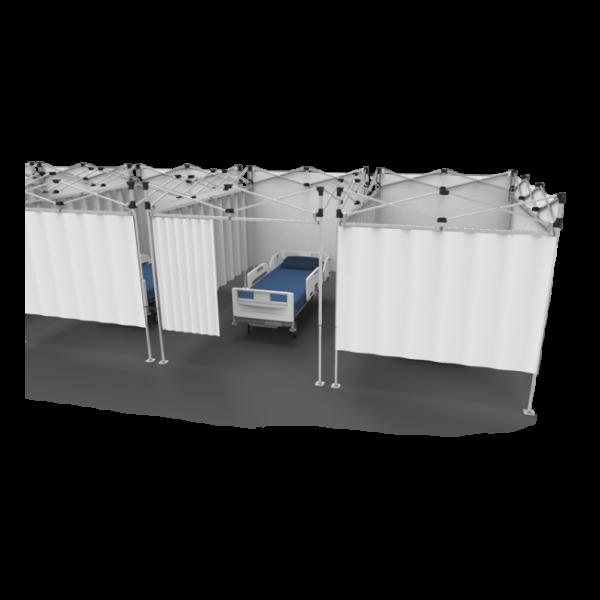 Medical Partition System (Quick-Set)