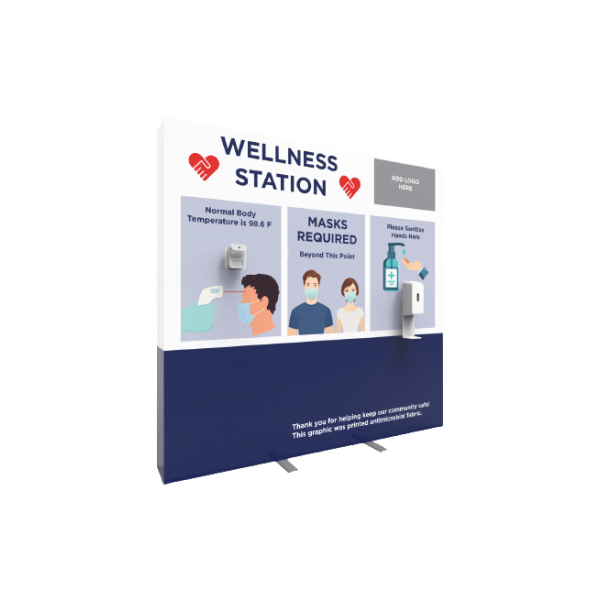 Wellness Station With Endcaps