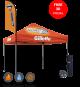 Commercial pop up tent