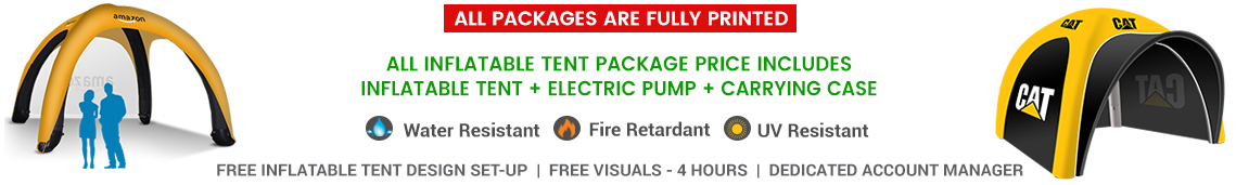 10x10 air dome tent package deals