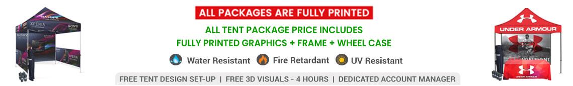 10x10 custom tent deals