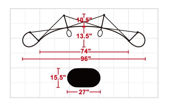 frame dimensions