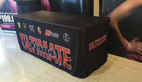 Dye Sublimated Tablecloths