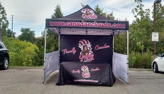 Custom Printed Canopy Tents